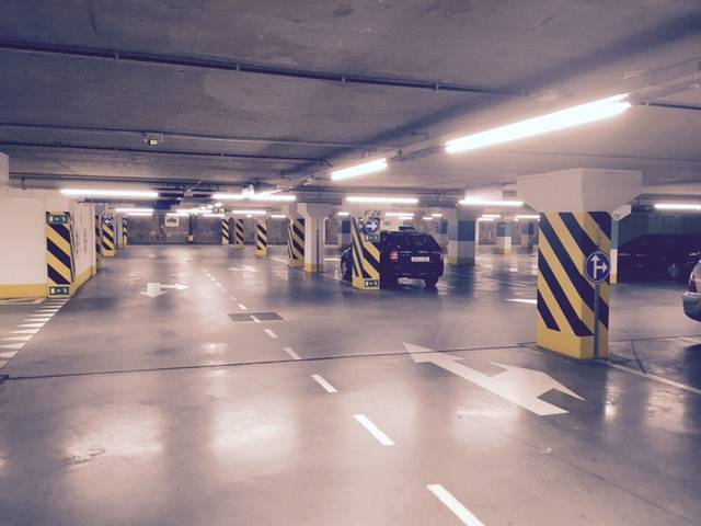Parking Europees Parlement